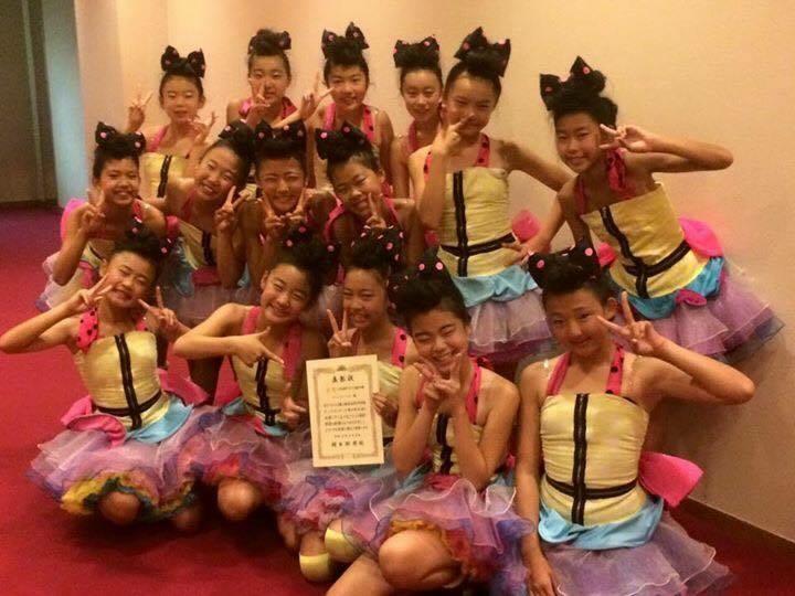 ③全日本小中学生ダンスコンクール東日本大会 金賞